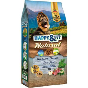 Happy&Fit Natural Welpen Lamm 12kg kutyatáp