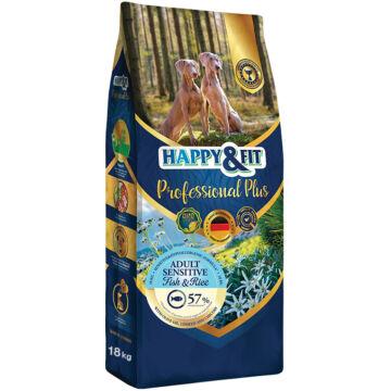 Happy&Fit Professional Plus Adult Sensitive Fish&Rice 18 kg