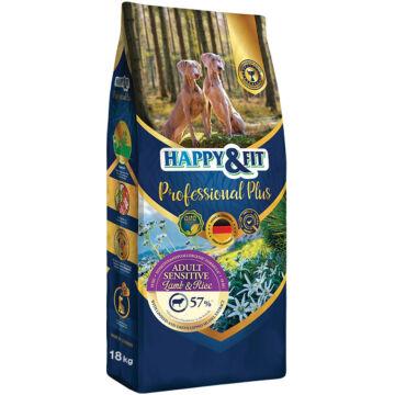 Happy&Fit Professional Plus Adult Sensitive Lamb&Rice 18 kg
