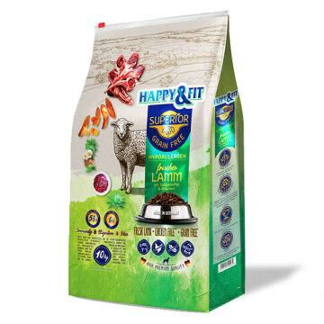 Happy&Fit Superior Grain Free Hipoallergén (bárány, édesburgonya, gyógynövény) 10 kg