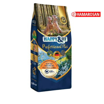 Happy&Fit Professional Plus Adult medium fresh popultry&Rice 18 kg