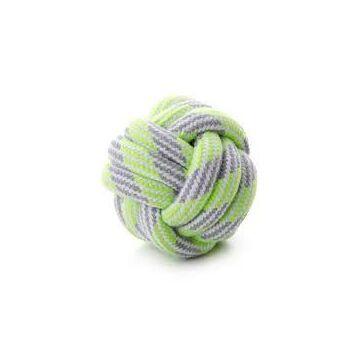 JK kötél labda zöld 9cm