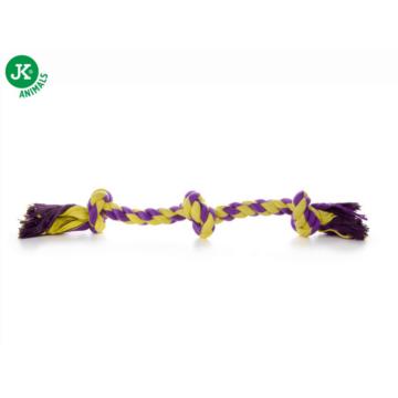 JK kutyajáték pamut 3 csomós 50cm