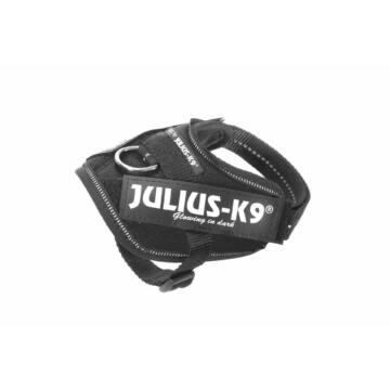 Julius-K9 IDC Powerhám, felirattal, Baby 1 Fekete