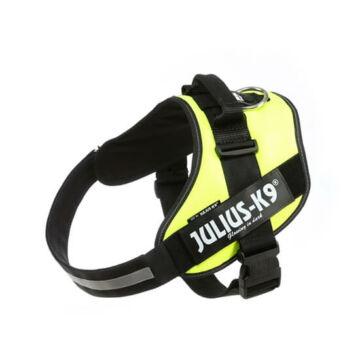 Julius-K9 IDC Powerhám, felirattal, méret 3 Neonzöld