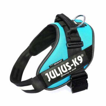 Julius-k9 IDC® Powerhám, felirattal, méret 2 Aquamarine