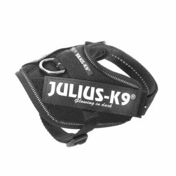 Julius-K9 IDC Powerhám, felirattal, Baby 2 Fekete