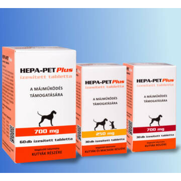 Hepa Pet Plus tabletta 700mg 60 db