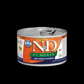 N&D Dog konzerv bárány&áfonya sütőtökkel Puppy mini 140gr