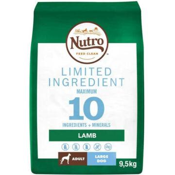 NUTRO LIMITED INGREDIENT száraztáp bárányhússal felnőtt kutyáknak 9,5 kg
