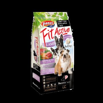 Panzi FitActive Hypoallergenic BullDogs Lamb, Fish, Apple & Rice 1,5 kg