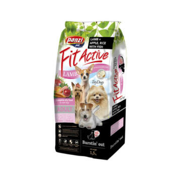 Panzi FitActive Hypoallergenic ToyDogs Lamb, Fish, Apple & Rice 1,5 kg