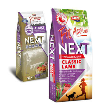 Panzi FitActive Next Adult Lamb & Fish with Cranberries 3kg