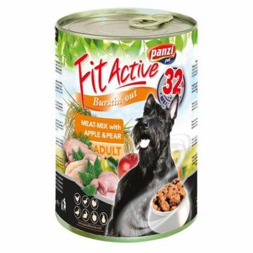 Panzi FitActive Adult Dog Konzerv Meat-Mix 1240gr