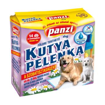 Panzi Helyhez szoktató - kutyapelenka 40x60cm (14db)