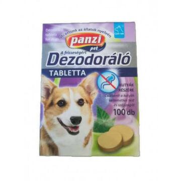 Panzi Vitamin - Dezodoráló/test és szájszag ellen kutyák részére (100db)
