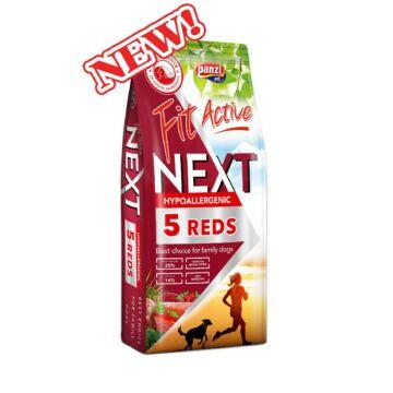 Panzi FitActive Next Hypoallergenic Five Reds 3kg