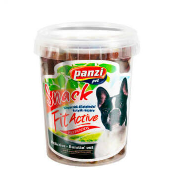 Panzi FitActive Meaty Snack - jutalomfalat (marha,bárány) kutyák részére (330g)
