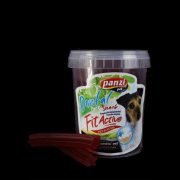 Panzi Fitactive Fogtisztító jutalomfalat sonkás, vörösáfonyás ízben 330g