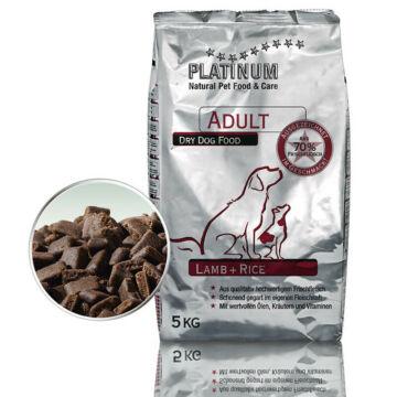 Platinum Natural Adult Lamb &Rice 2x5kg