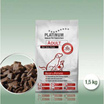 Platinum Adult Marha+Burgonya 1,5kg