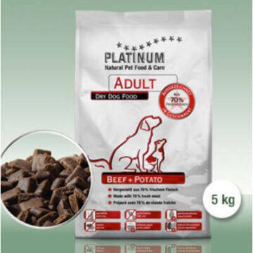 Platinum Natural Beef & Potato 2x5kg