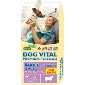 Dog Vital Adult Sensitive  Mini Breeds Lamb  12kg kutyatáp