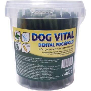 Dog Vital Dental Fogápoló / Borsmentával És Klorofillal 460g