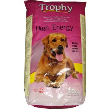 Trophy Dog High Energy 20kg 32/15 kutyatáp