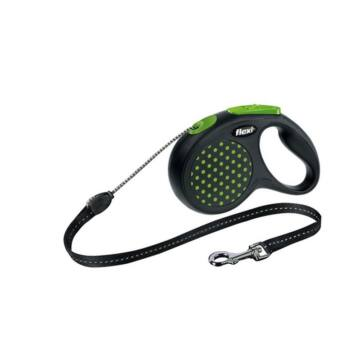 Flexi Design Xs Zsinór 3m, 8kg Zöld