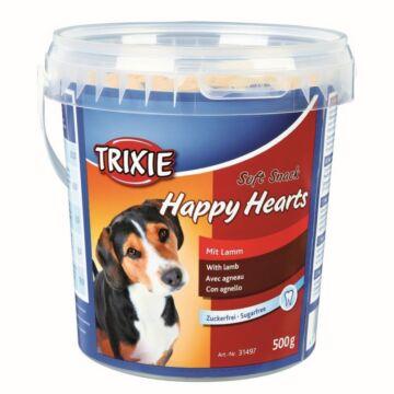 Trixie Jutalomfalat Soft Snack Happy Hearts Vödrös 500gr