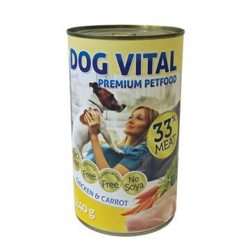 Dog Vital konzerv chicken&carrot 1240gr
