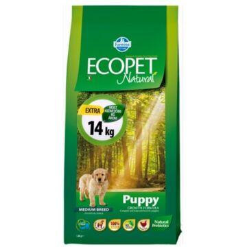 Ecopet Natural Puppy Medium 2x14kg kutyatáp