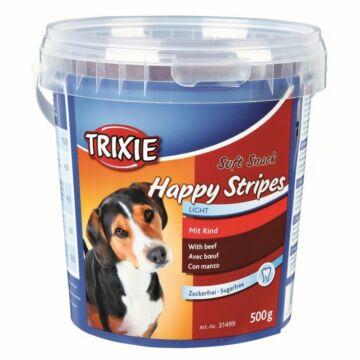 Trixie Jutalomfalat Soft Snack Happy Stripes Vödrös 500gr