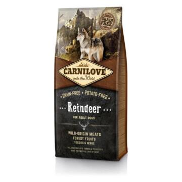 CarniLove Adult Reindeer Rénszarvas 12 kg kutyatáp
