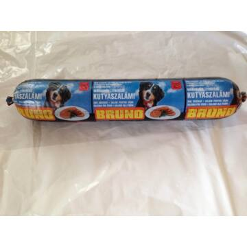 Bruno Marhahús Ízesítésű Kutya szalámi 1kg