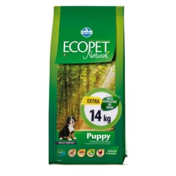 Ecopet Natural Puppy Maxi 2x14kg kutyatáp