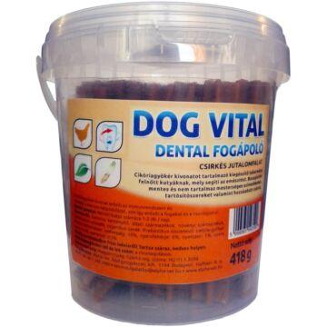 Dog Vital Dental Fogápoló Csirkés 418gr