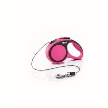 Flexi új Comfort Xs zsinór 3m,8kg-ig pink