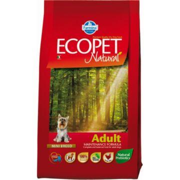Ecopet Natural Adult Mini 2x14kg kutyatáp