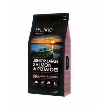 Profine Junior Large Salmon & Potatoes 15 kg kutyatáp