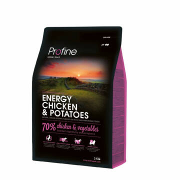 Profine Energy Chicken & Potatoes 3 kg kutyatáp