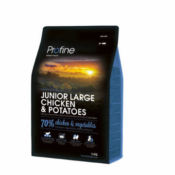 Profine Junior Large Breed Chicken & Potatoes 3 kg kutyatáp