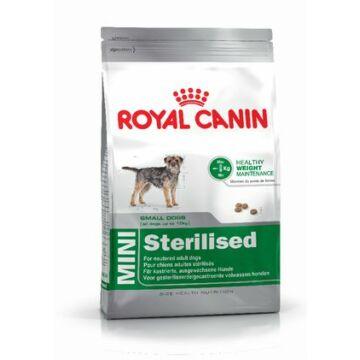 Royal Canin MINI 1-10 kg STERILIZED 3 kg kutyatáp