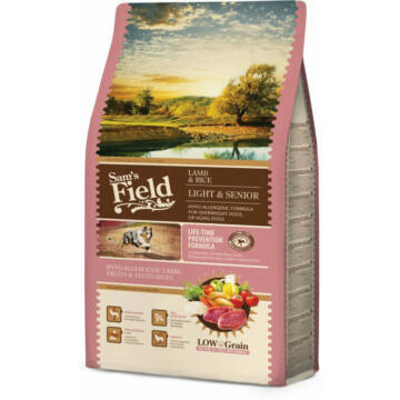 Sam's Field Lamb & Rice Light & Senior  2,5kg