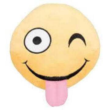 Trixie Játék Kacsintós Smiley Plüss, Hanggal 14cm
