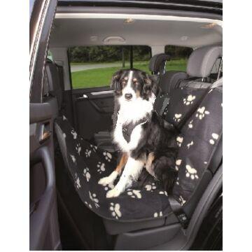 Trixie Autóba Ülésvédő Fekete/Bézs 0,65×1,45m