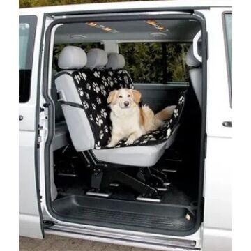 Trixie Autóba Ülésvédő Fekete/Bézs 1,40×1,45m