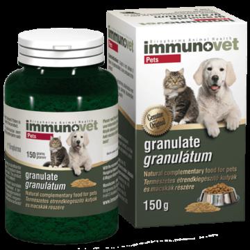 ImmunoVet Pets Granulátum Természetes Immunerősítő 150 g