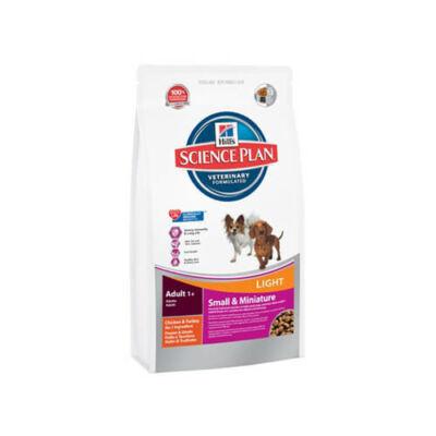 SP Canine Adult Small&Miniature Light Chicken 1,4 kg kutyatáp